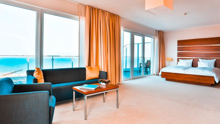 Suite Superior des The Grand Ahrenshoop (Quelle: The Grand Ahrenshoop)