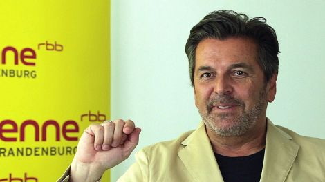 Thomas Anders, Foto: Antenne Brandenburg/S. Oberwalleney